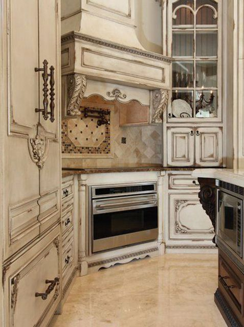 25 Luxurious French Provincial Kitchens Country Kitchen Designs