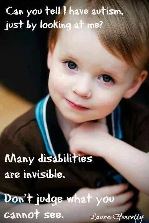 many disabilities are invisible | Class is in session