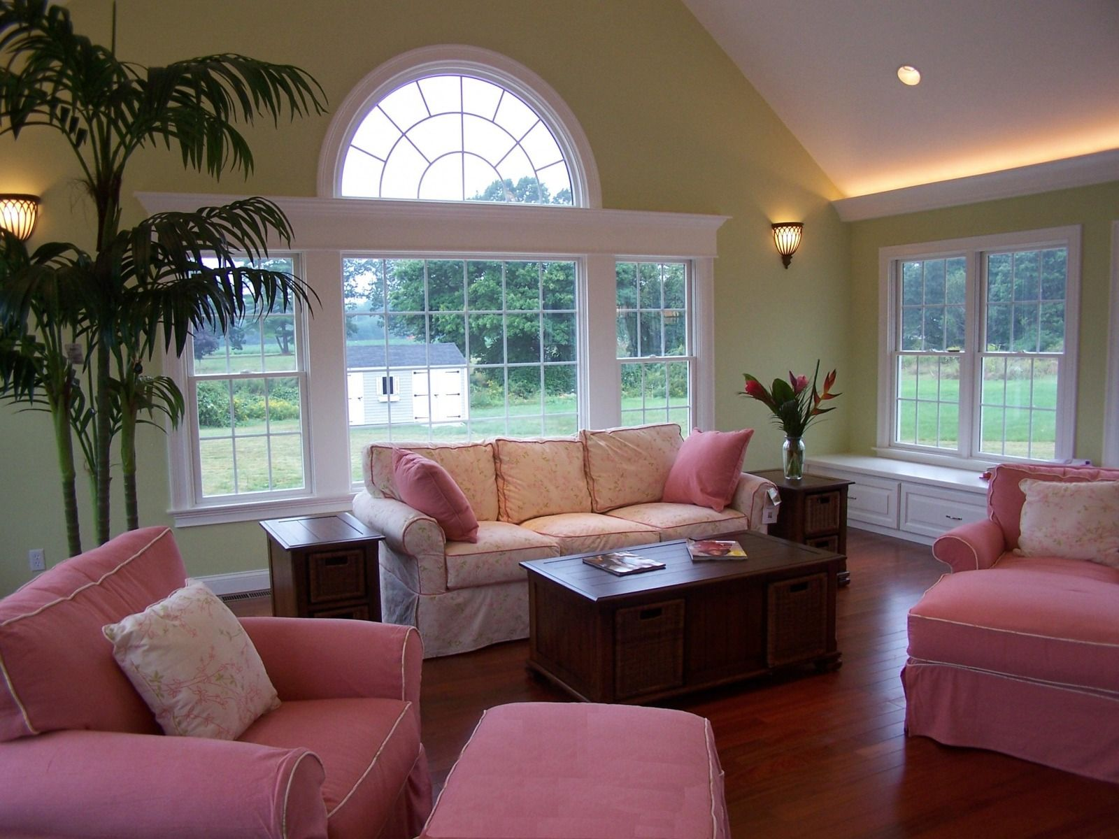 Window ideas for family room  family room additions  harborhouse design llc  portfolio  family