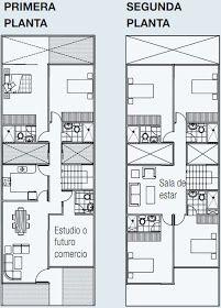 Planos de vivienda en 140 m2 de terreno 3 pisos www for Casa moderna 140 m2