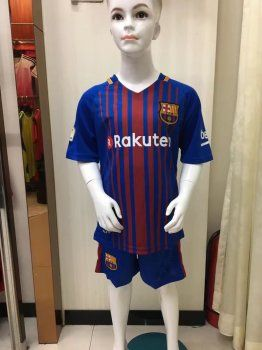 197ecda55 Kids FC Barcelona 2017-18 Season Home FCB Kit  K218