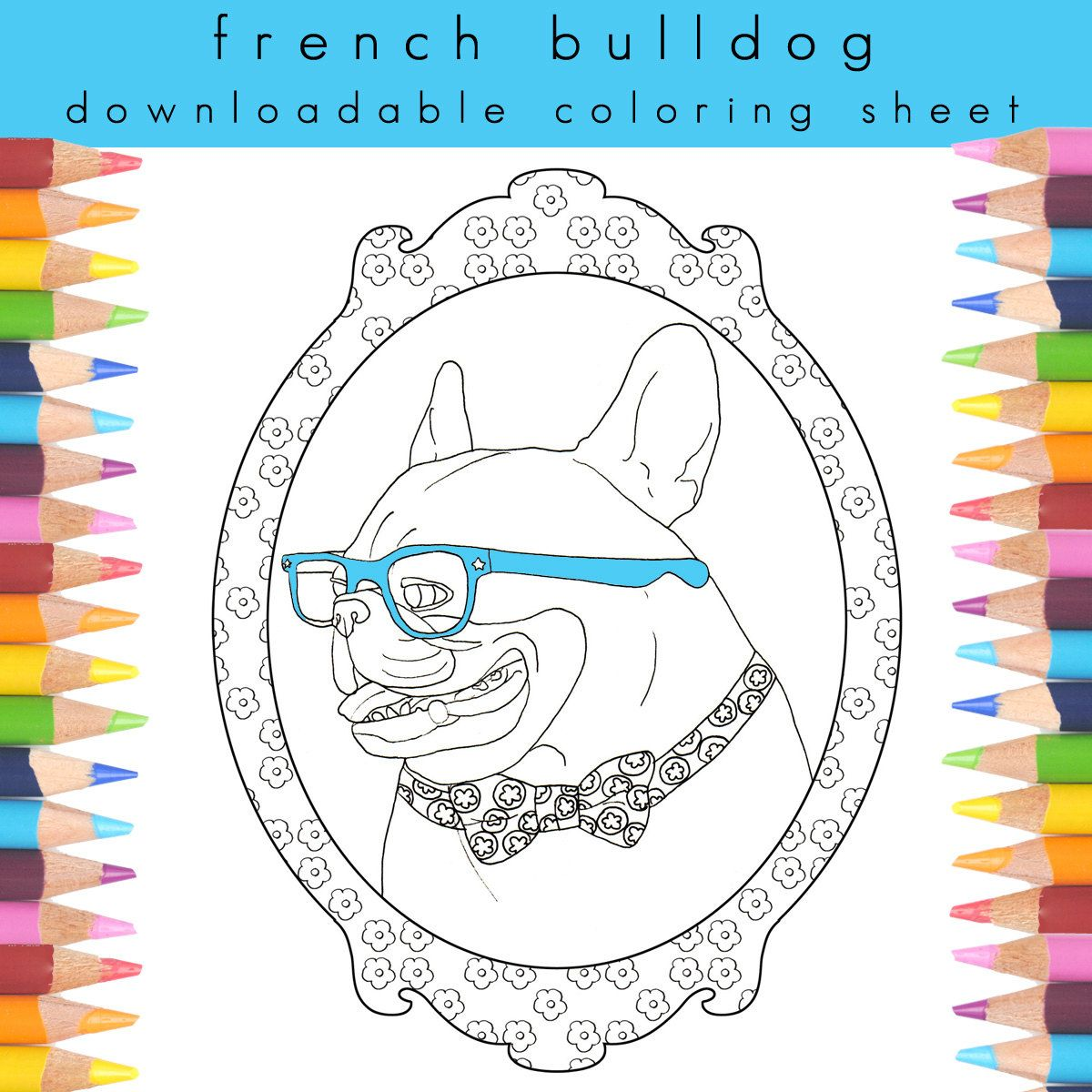 Adult Coloring Page Dog Book Pages For Adults