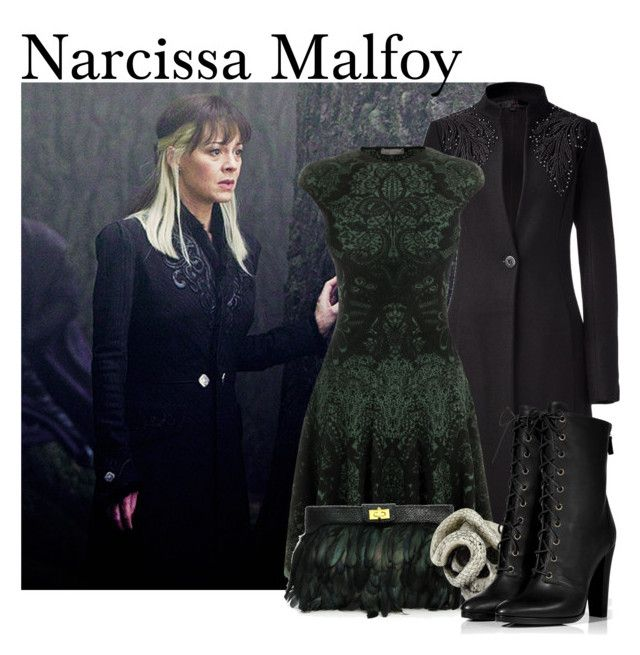 Narcissa Malfoy From Harry Potter By Ginger Coloured Liked On Polyvore Featuring L Wren Scott Alexander Mc Alternative Outfits Nice Dresses Clothes Design