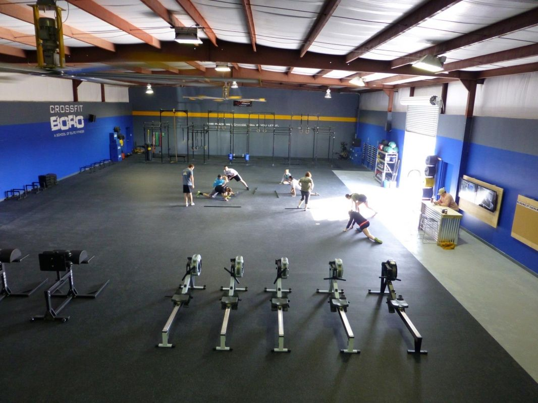 undefined Fight gym, Crossfit gym, Crossfit box