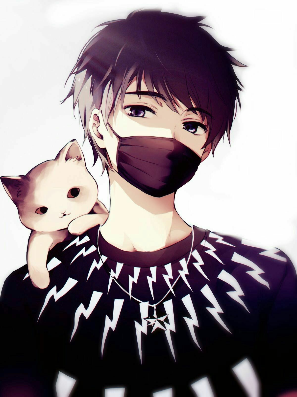Cute Boy Anime Pictures : anime, pictures, Dayum, Wings, Handsome, Anime,, Anime, Drawings
