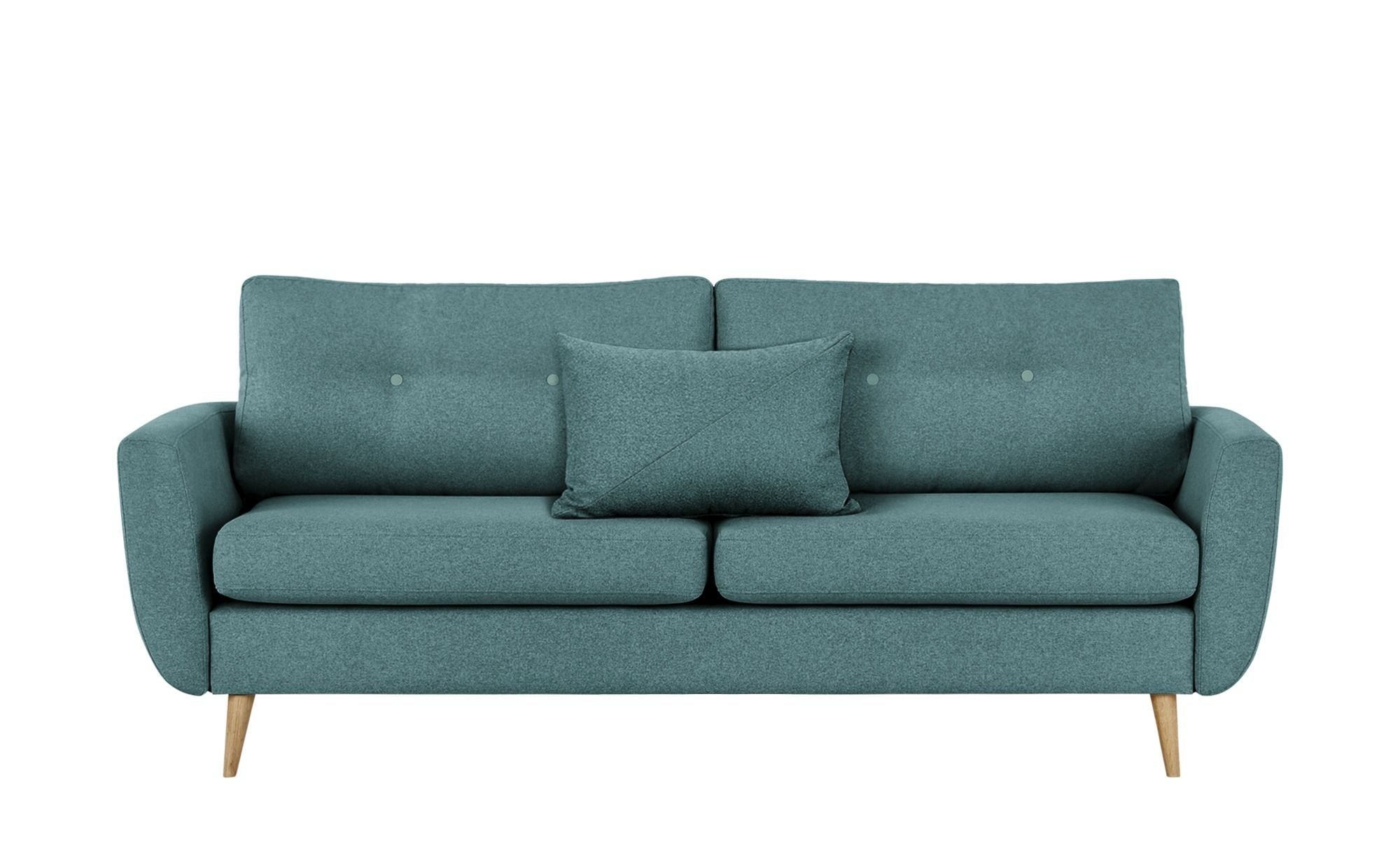 Finya Sofa Petrol Webstoff Harris In 2019 Products Retro Sofa