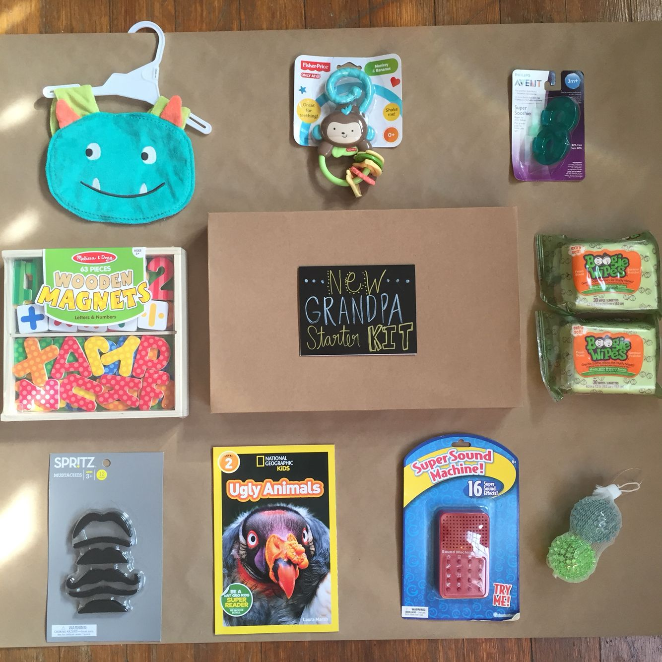 New grandpa starter kit. A Christmas present I\'m working on for my ...