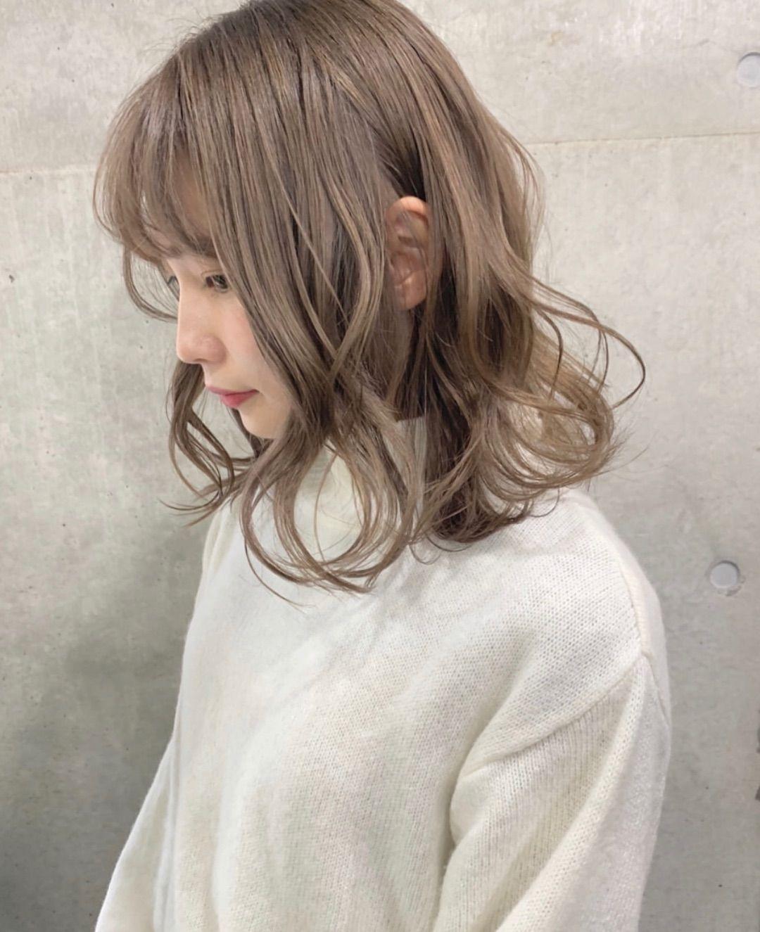 武田 響 ミルクティーカラー バンド好き美容師 On Instagram ミルク
