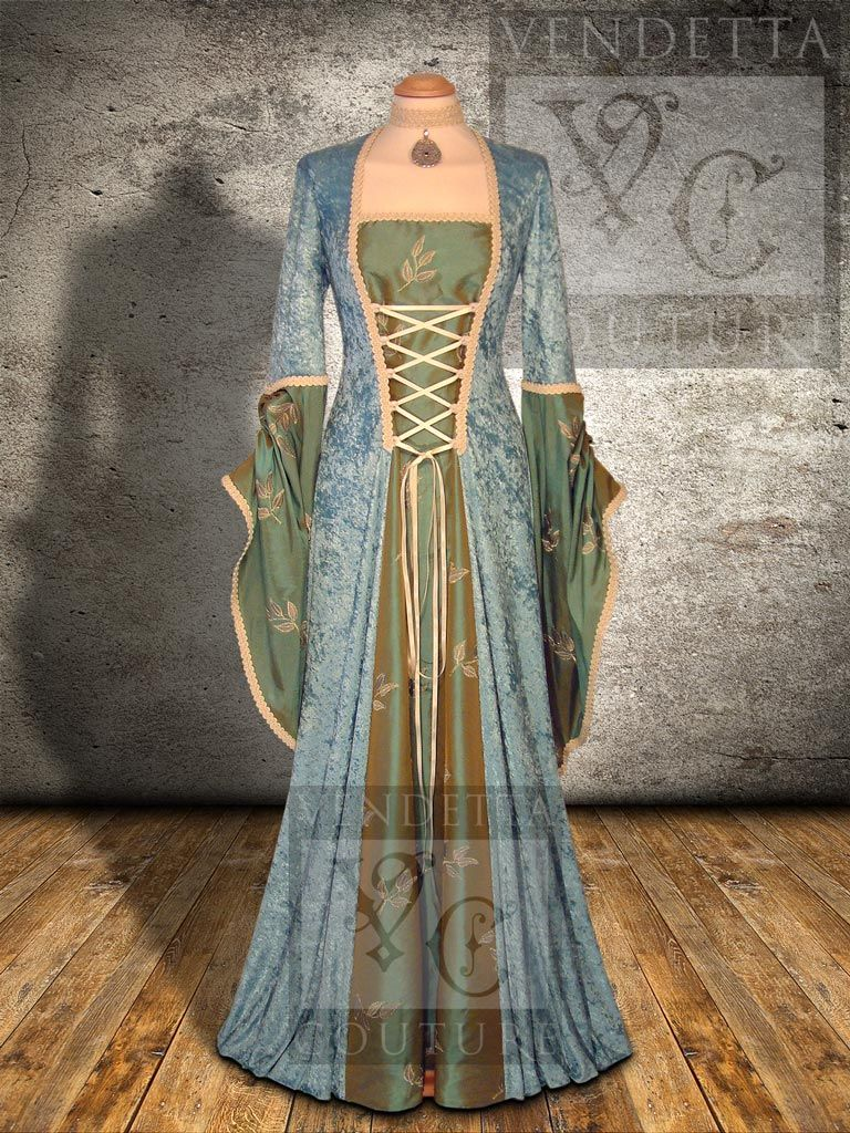 Lily medieval style dress alteration inspiration clothing