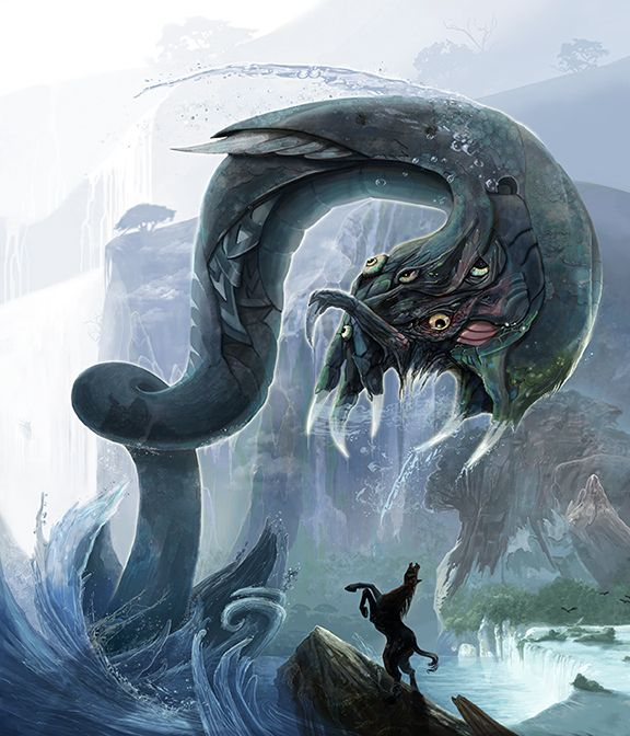 Chains Of Durandal Mythological Creatures Fantasy Creatures