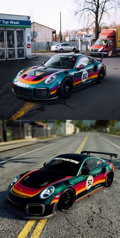 Here S Another Wrap That I Made Gt2 Rs Vaillant Livery Photo Credit Minarikd On Instagram Needforspeed Car Wrap Design Race Cars Porsche Cars