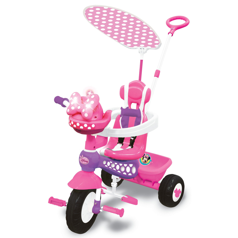 634c974eaf0 Kiddieland Disney Minnie Mouse Push N' Ride Trike (G661148489838), Grey  metal