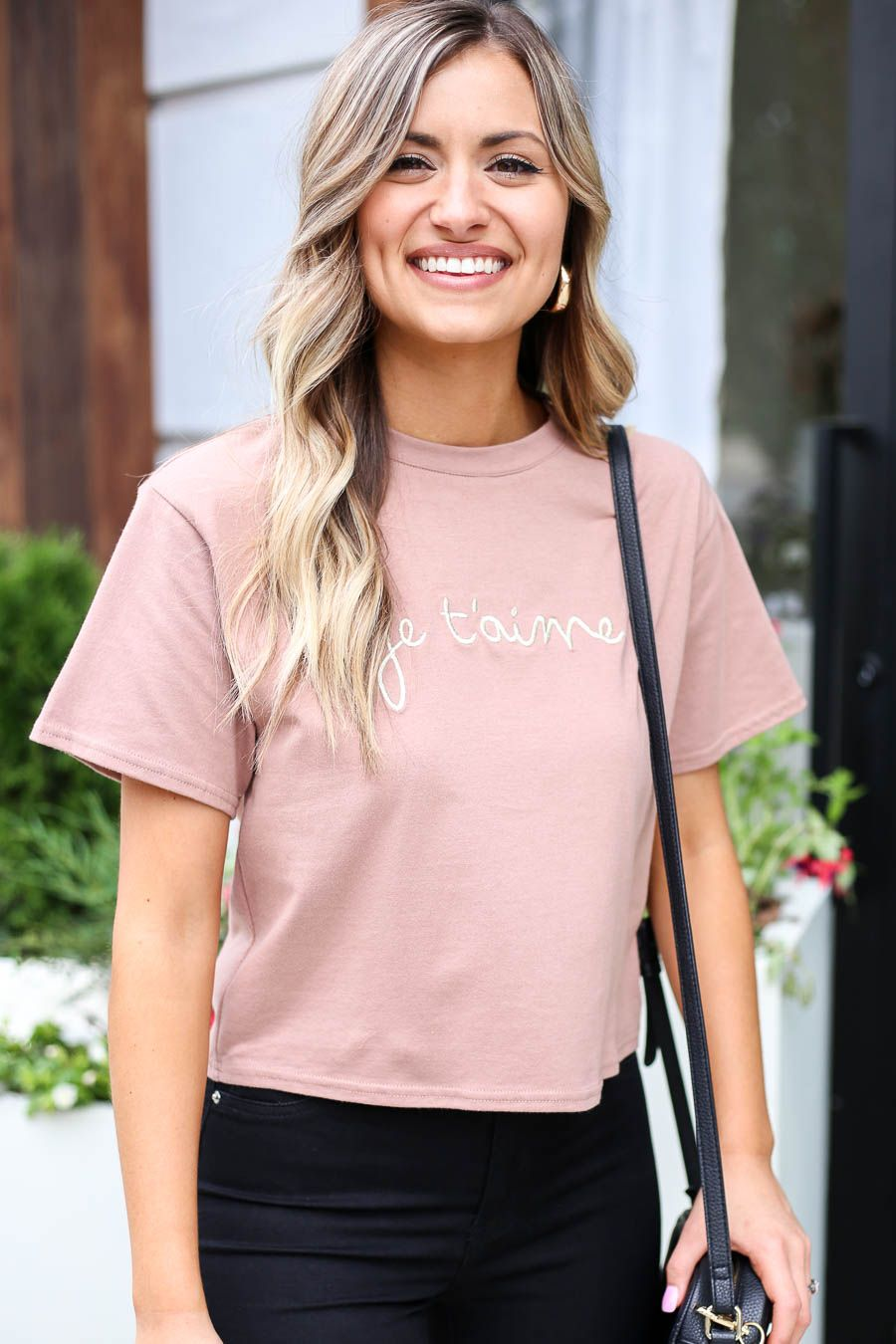 New graphic tee! graphictee Sunday brunch outfit