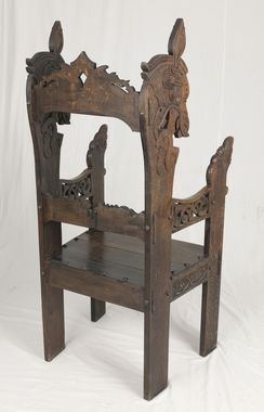 DigitaltMuseum Stol | Medieval furniture, Gothic furniture