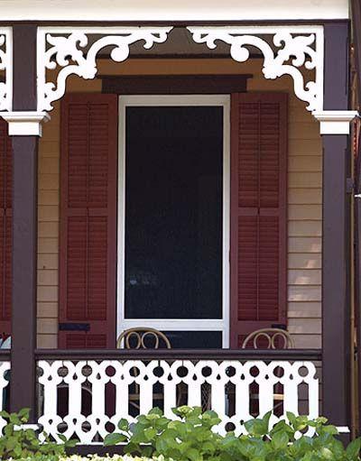 Porch Trim, Victorian Porch, House Trim