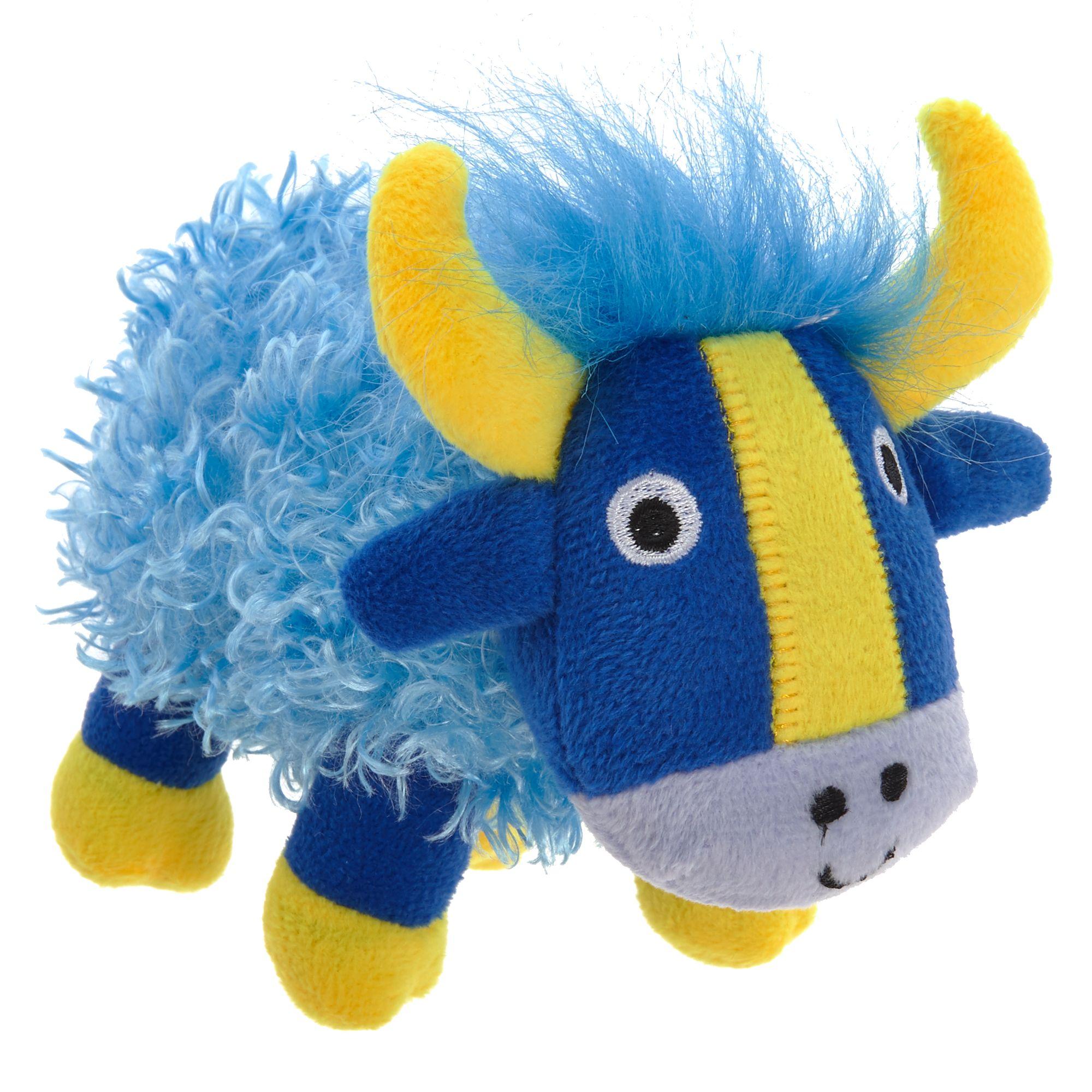 Top Paw Yak Dog Toy Plush Squeaker Plush Dog Toys Dog Toys