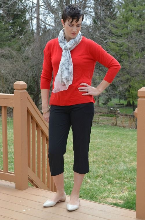daisy fuentes for kohls red sweater | Kohl's Fashion | Pinterest ...