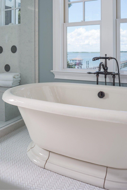 Vintage bath Finial bath faucet WaterTile bodysprays Ann Sacks Savoy ...