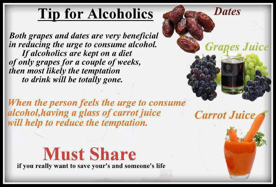 how to stop alcohol drinking naturally