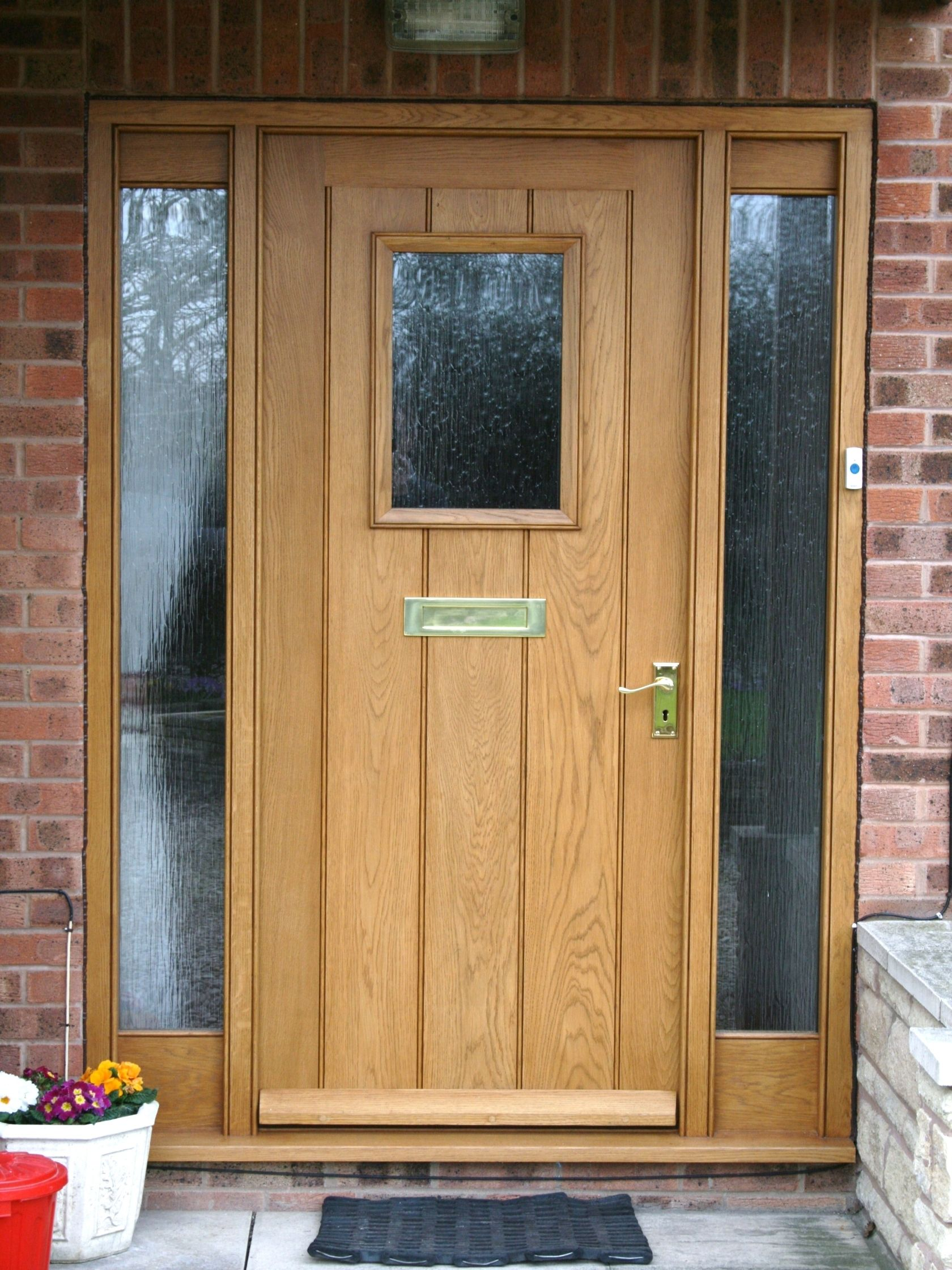 Oak Door Frames Exterior | http://thefallguyediting.com | Pinterest ...