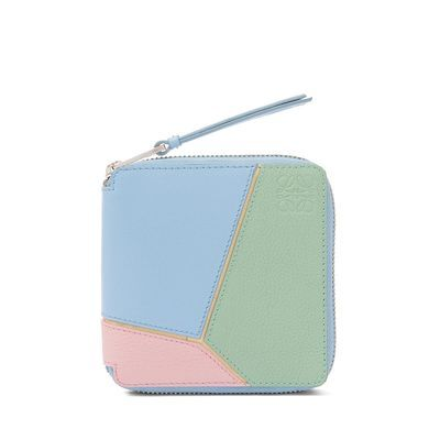 5fe07e0550 Loewe Puzzle Square Zip Wallet Multicolor ($590) | Fashion・Style ...