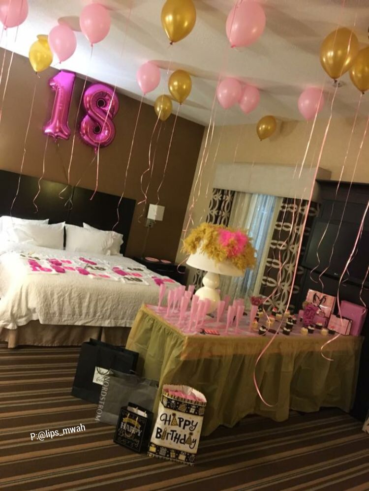 Hotel Room Birthday Decoration Ideas Valoblogicom