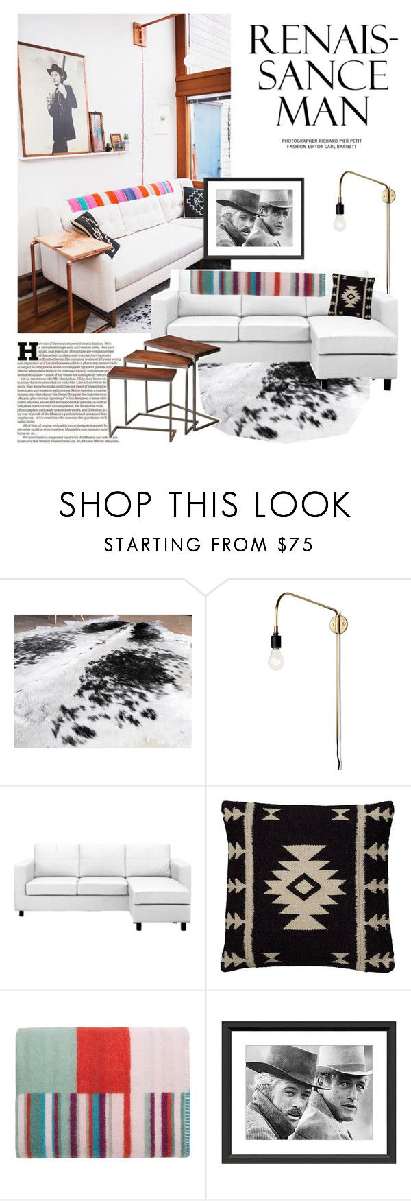 """easy living"" by brandygrr ❤ liked on Polyvore featuring interior, interiors, interior design, home, home decor, interior decorating, Maison Margiela, Menu, Rizzy Home and iittala"