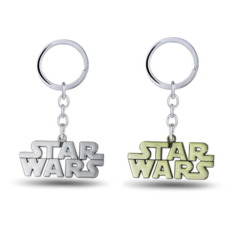 Julie Star Wars Letters Keychain 2 Color Anime Movie Jewelry Alloy Keyring  For Women Men Boy Girl Key Chain Holder Chaveiro 71bc80e3d0