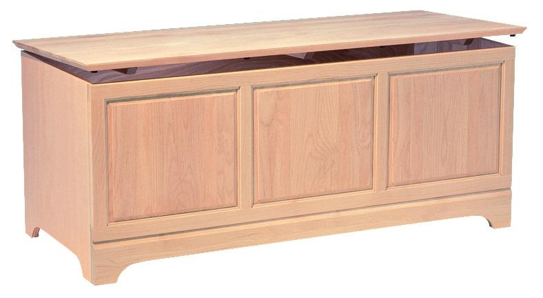 Unfinished storage chest storage livingroom bedroom - Unfinished solid wood bedroom furniture ...