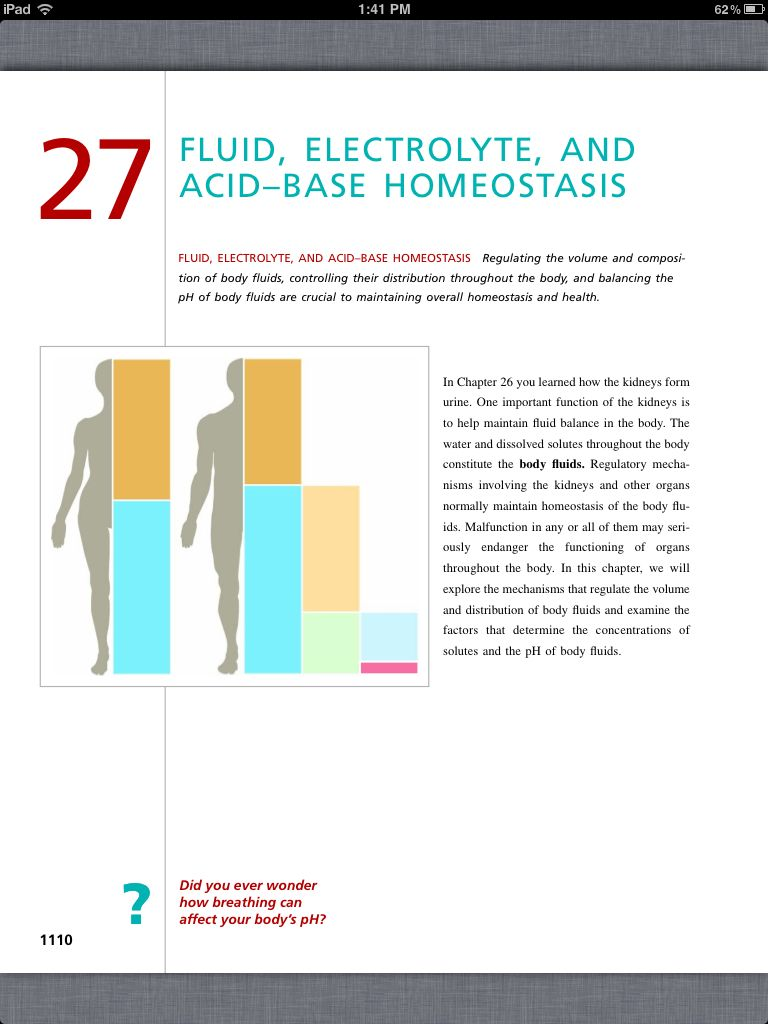 Principles of Anatomy and Physiology, Chapter 27, Fluid, Electrolyte ...