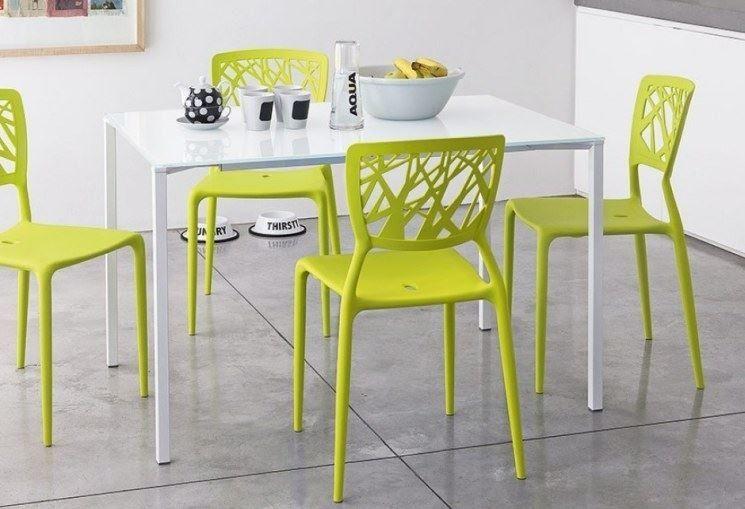 Sedia Da Cucina Plastica.Sedie Colorate Cucina Sala Da Pranzo Mobili Sedie Per Tavolo
