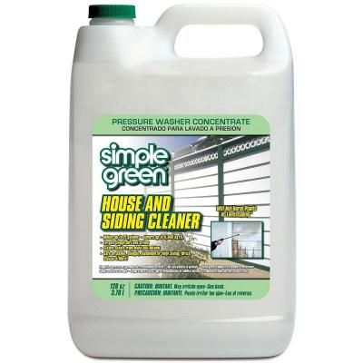 Simple Green 128 Oz House And Siding Cleaner Pressure Washer Concentrate 2300000118201 At The Hom Pressure Washing House Simple Green Cleaning Pressure Washer