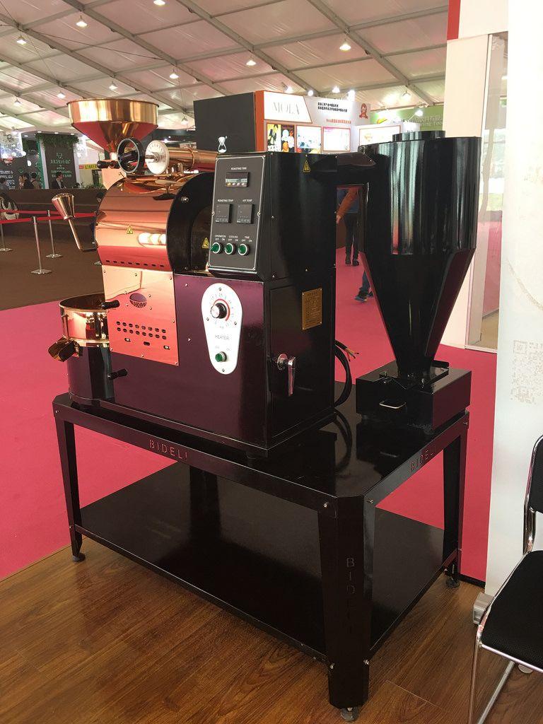 Amz Series Shanghai Exhibition Locale Coffee Roasters Amazon Coffee Roaster