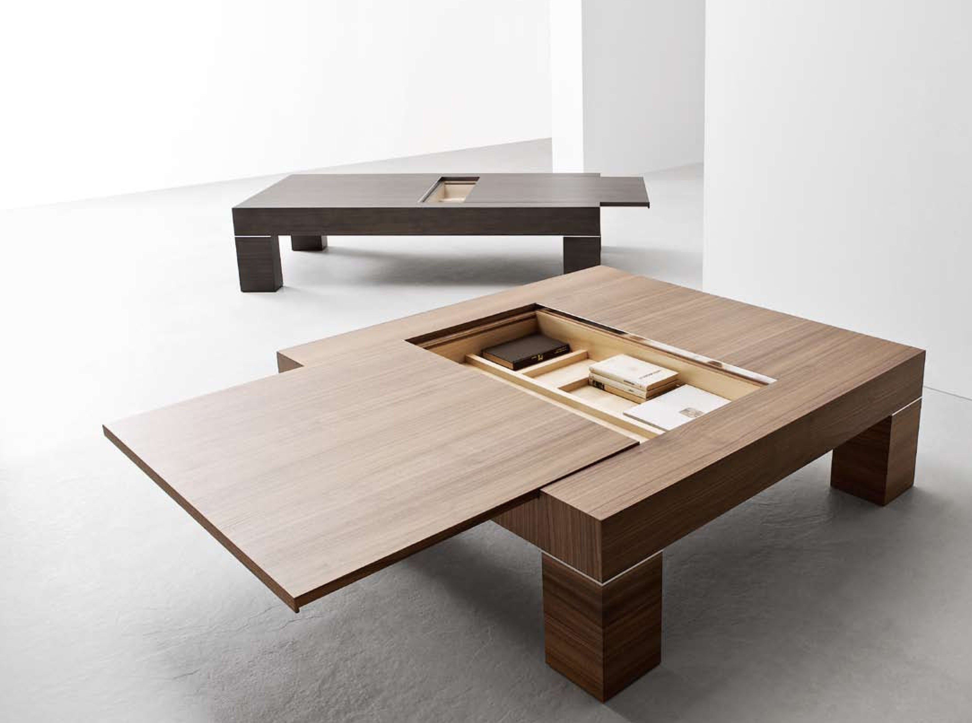 Casa Sliding Top Storage Coffee Table