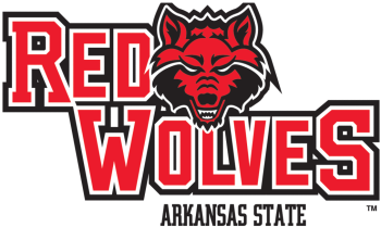 Arkansas Red Wolves Football Team Logo Arkansas State University