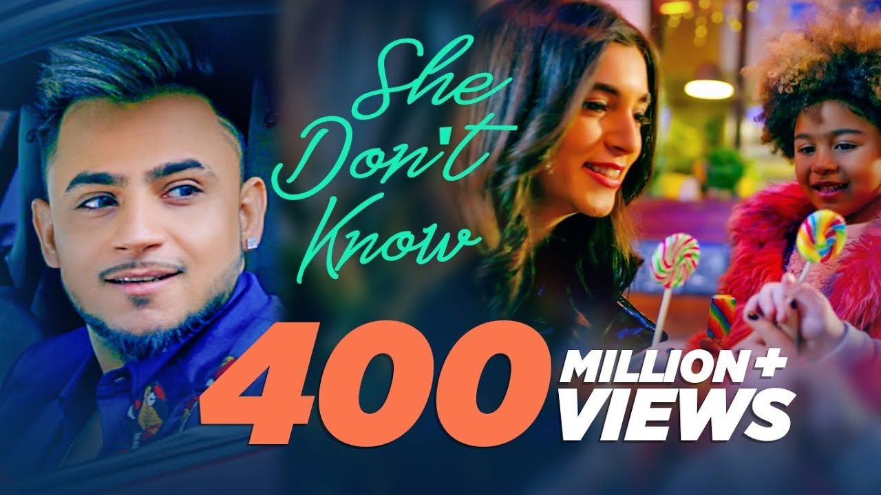 She Don T Know Millind Gaba Song Shabby New Hindi Song 2019 Lates In 2020 New Hindi Songs Song Hindi Songs