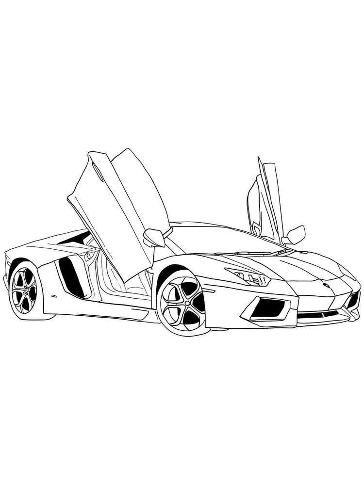 Ferrari 488 Coloring Pages Ferrari Is One Of The Manufacturers Of Supercar Cars Originating From Italy And Was F Cars Coloring Pages Super Cars Coloring Pages