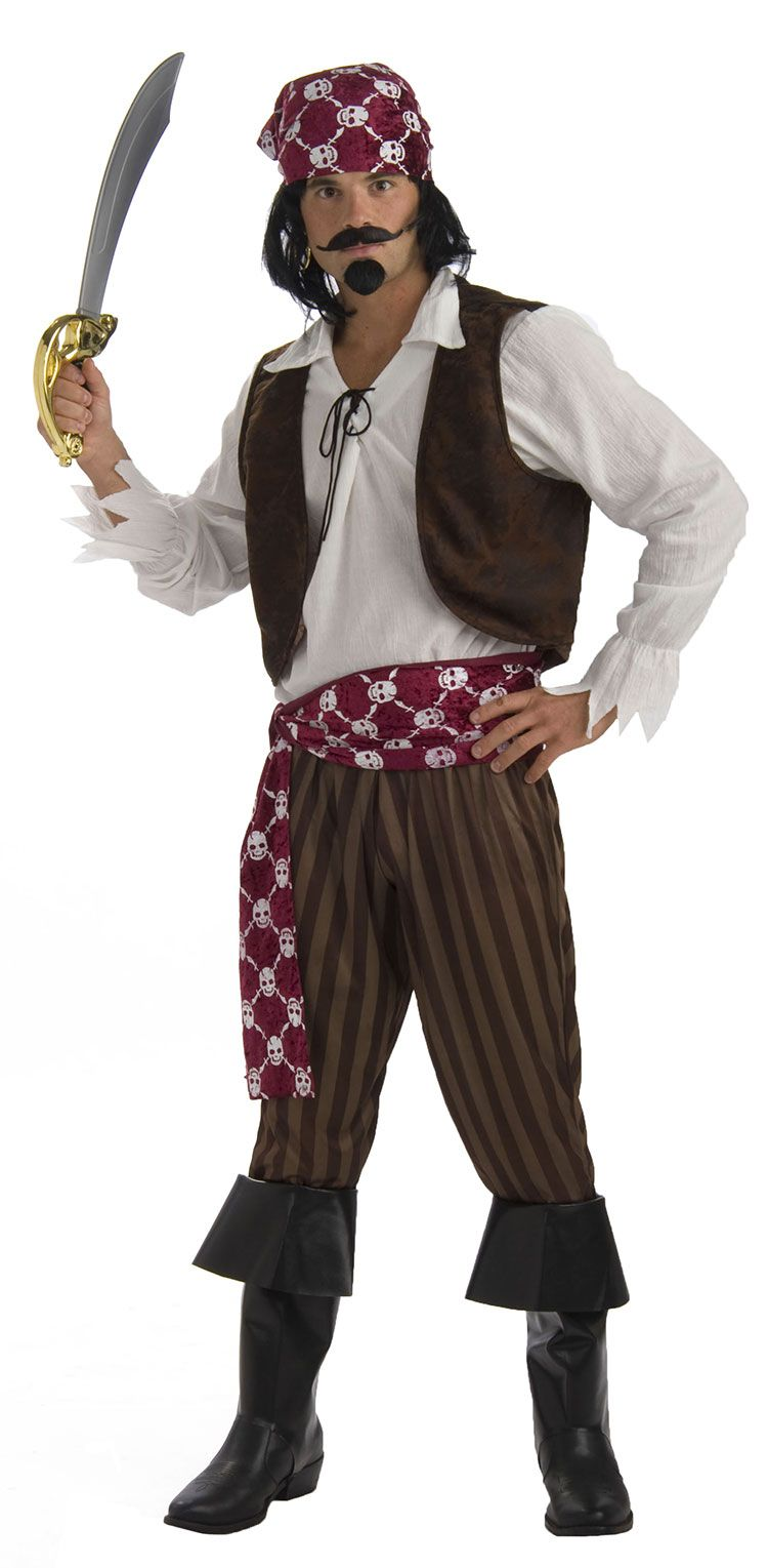 Ship Wrecked Pirate Costume,$45.09