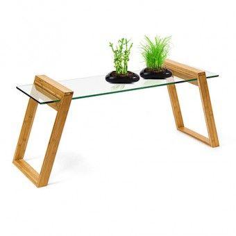 Couchtisch Aus Naturlichem Bambus Gefallig Mukai Wird Euer Herz Im Sturm Erobern Wohnzimmertische Diy Esstisch Glastische
