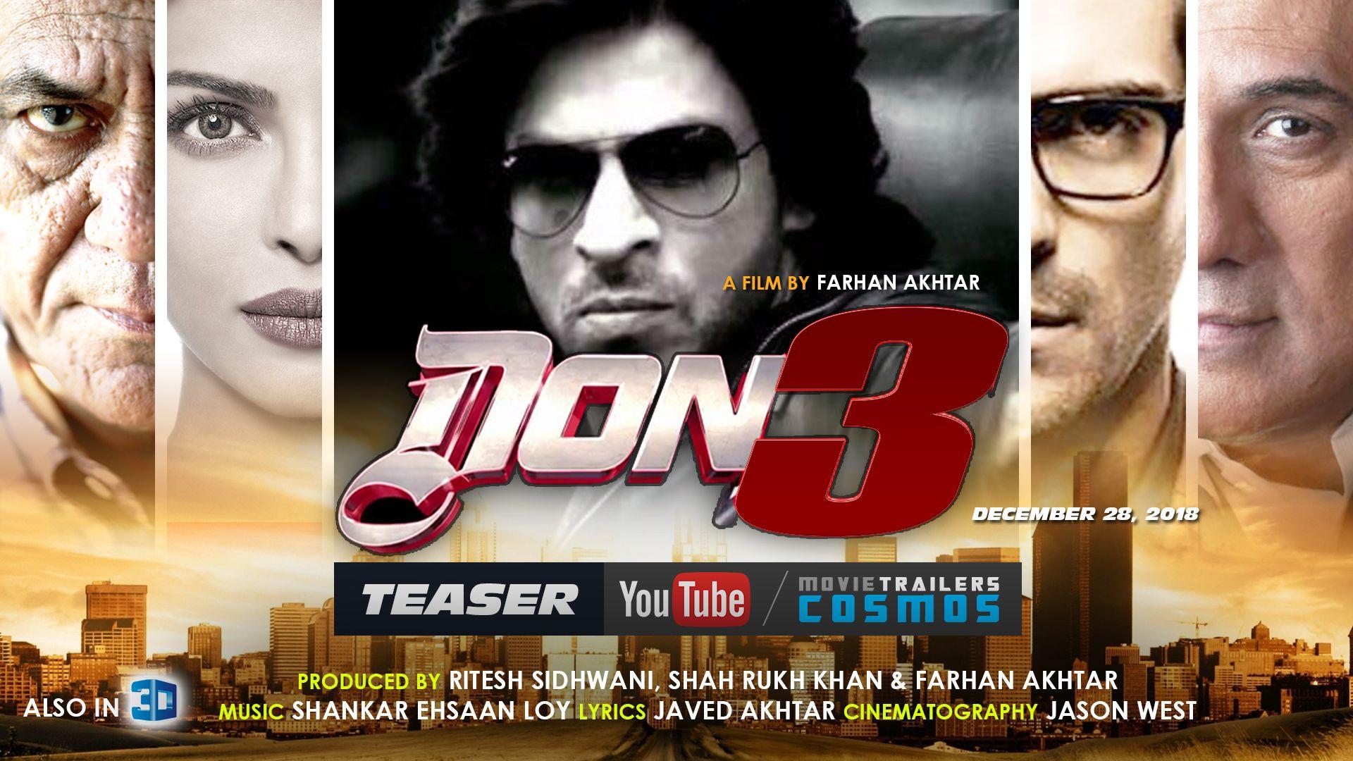 Don 3 Movie Wallpaper Full Hd Wallpaper Of Shahrukh Khan Don 3 Desktop Wallpaper