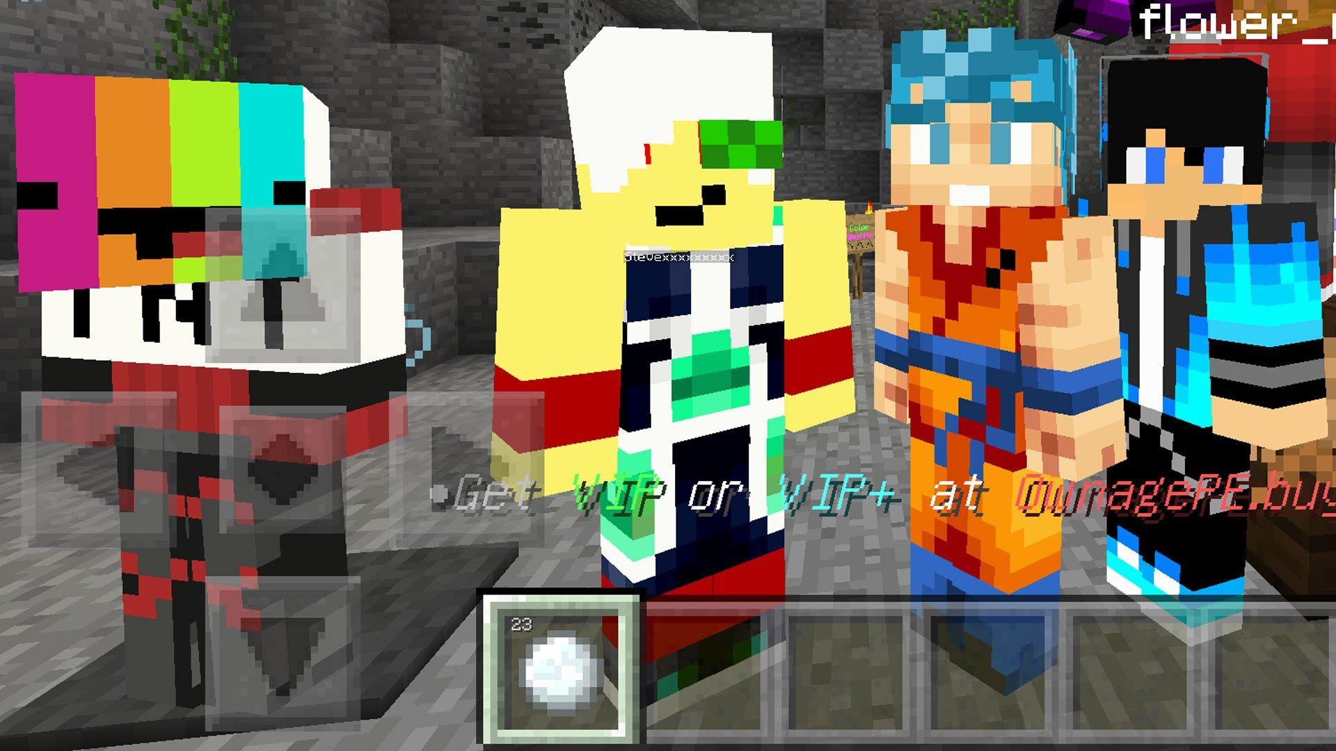 Apok's Minecraft PE 0 11 1 Color Shuffle Minigames Server