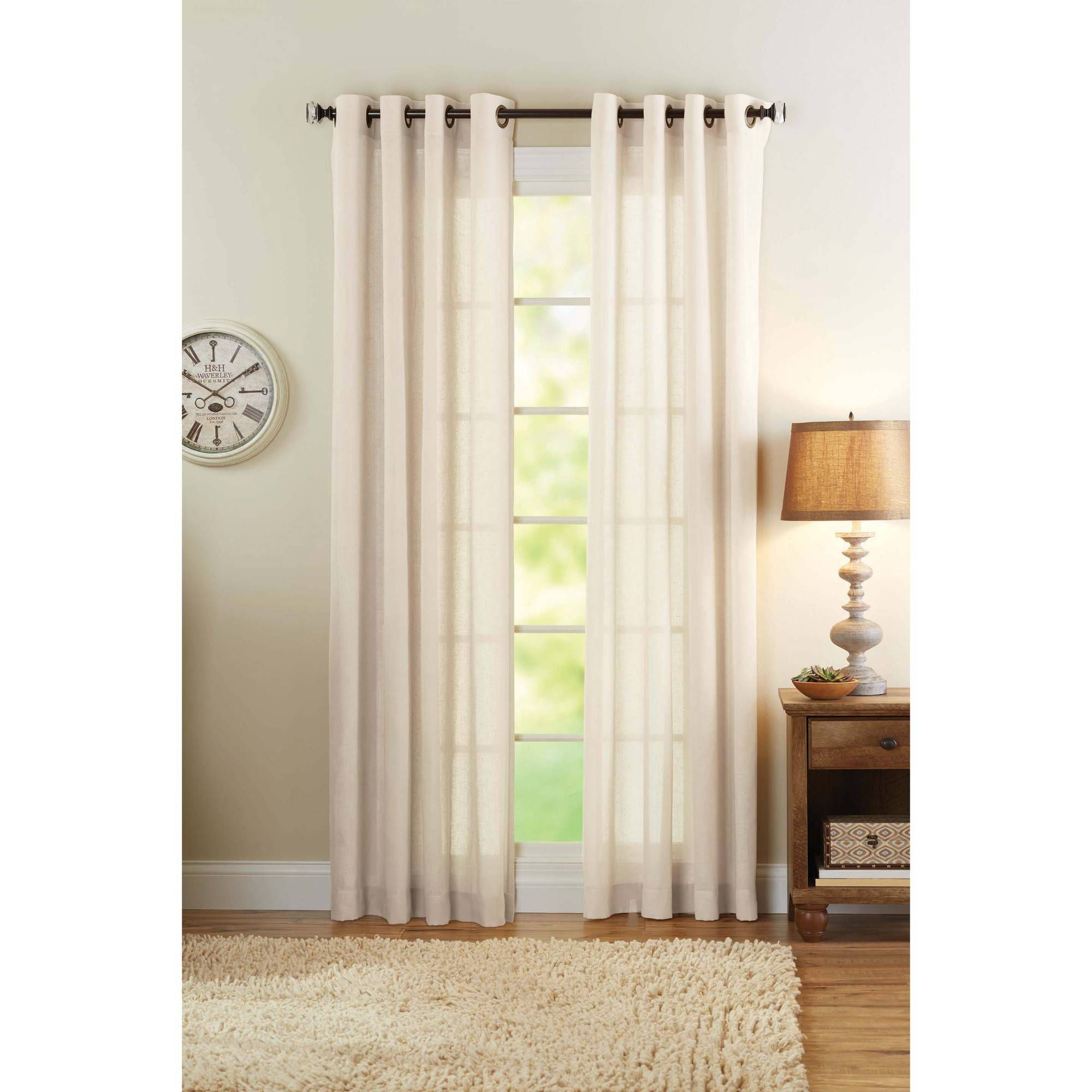 Better Homes And Gardens Wide Sheer Panel