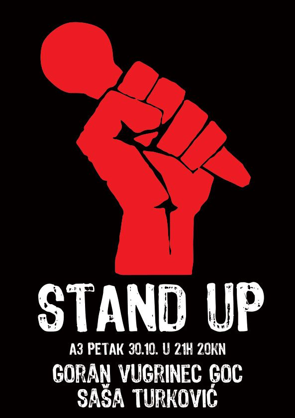 standup comedy poster comedy nights