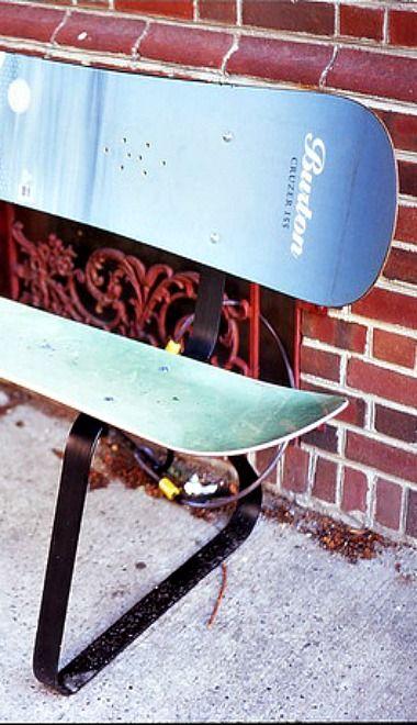 How To Build A Snowboard Bench Homesteady Ski House Decor Diy Plumbing Diy Chair