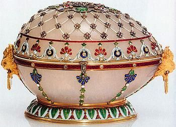 Rennaissance egg 1894 russian imperial easter eggs pinterest egg number ten is the renaissance egg from this was the last egg tsar alexander gave to his wife maria find this pin and more on russian imperial easter negle Gallery