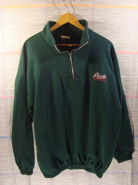 Roots Canada Vintage Pullover Sweater 90s by FleecenStuff on