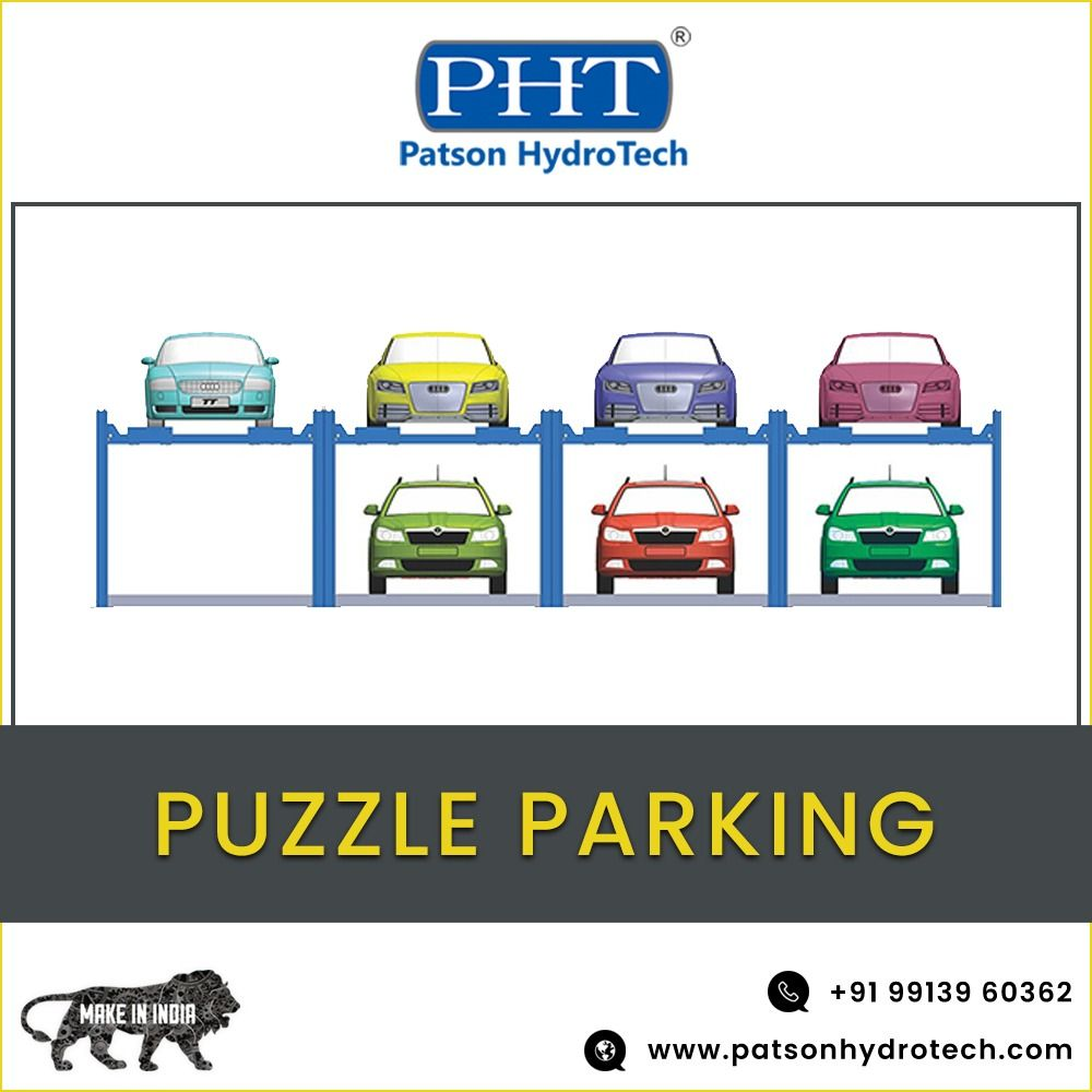 Photo of #PUZZLE_PARKING #PATSON_HYDROTECH #PHT