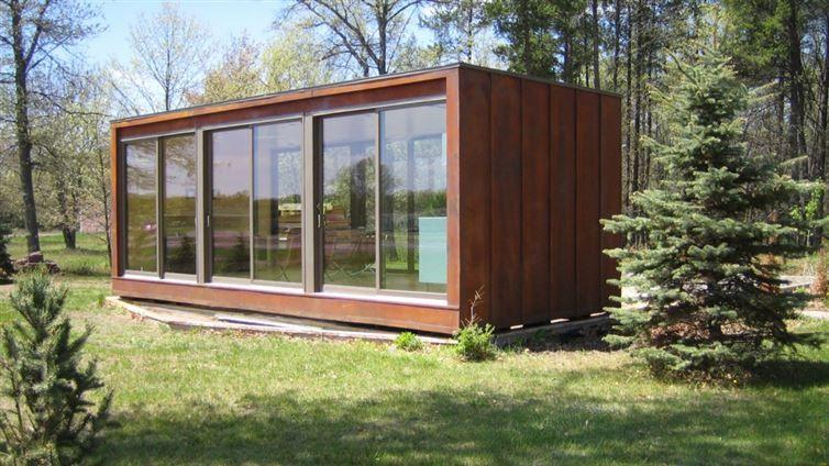 Hedendaags scandinavisch design tuinhuis - Google Search | Container huis NP-56
