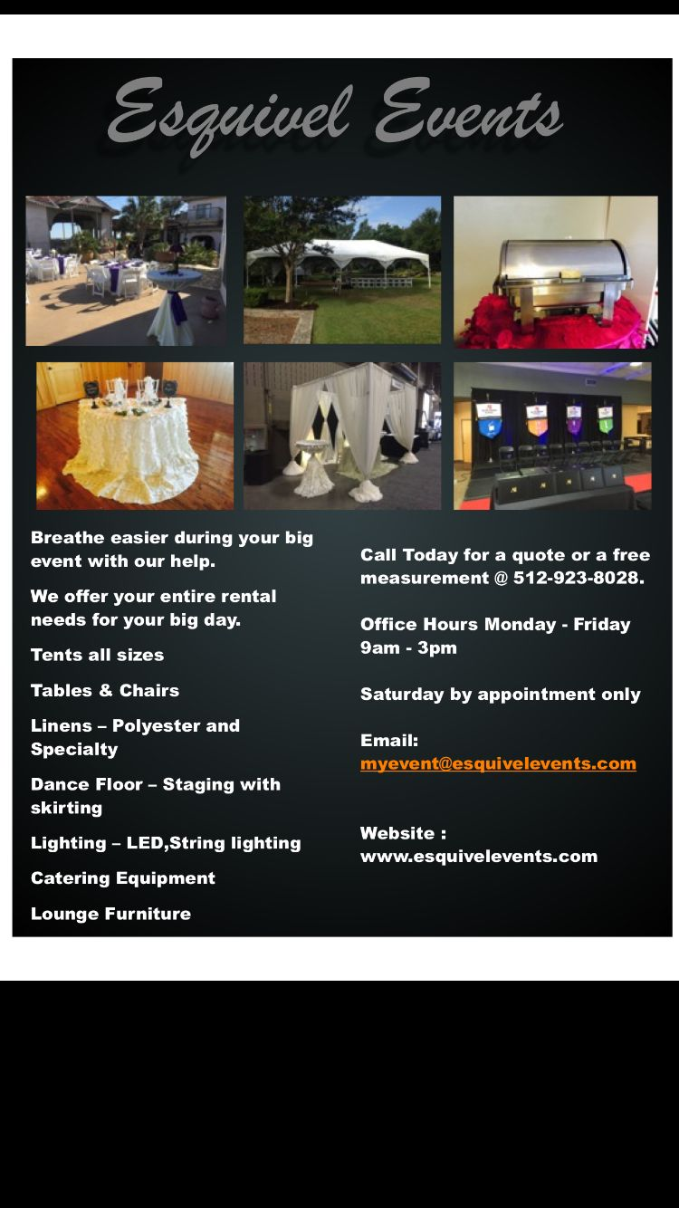 Full party rental company full party catering equipment