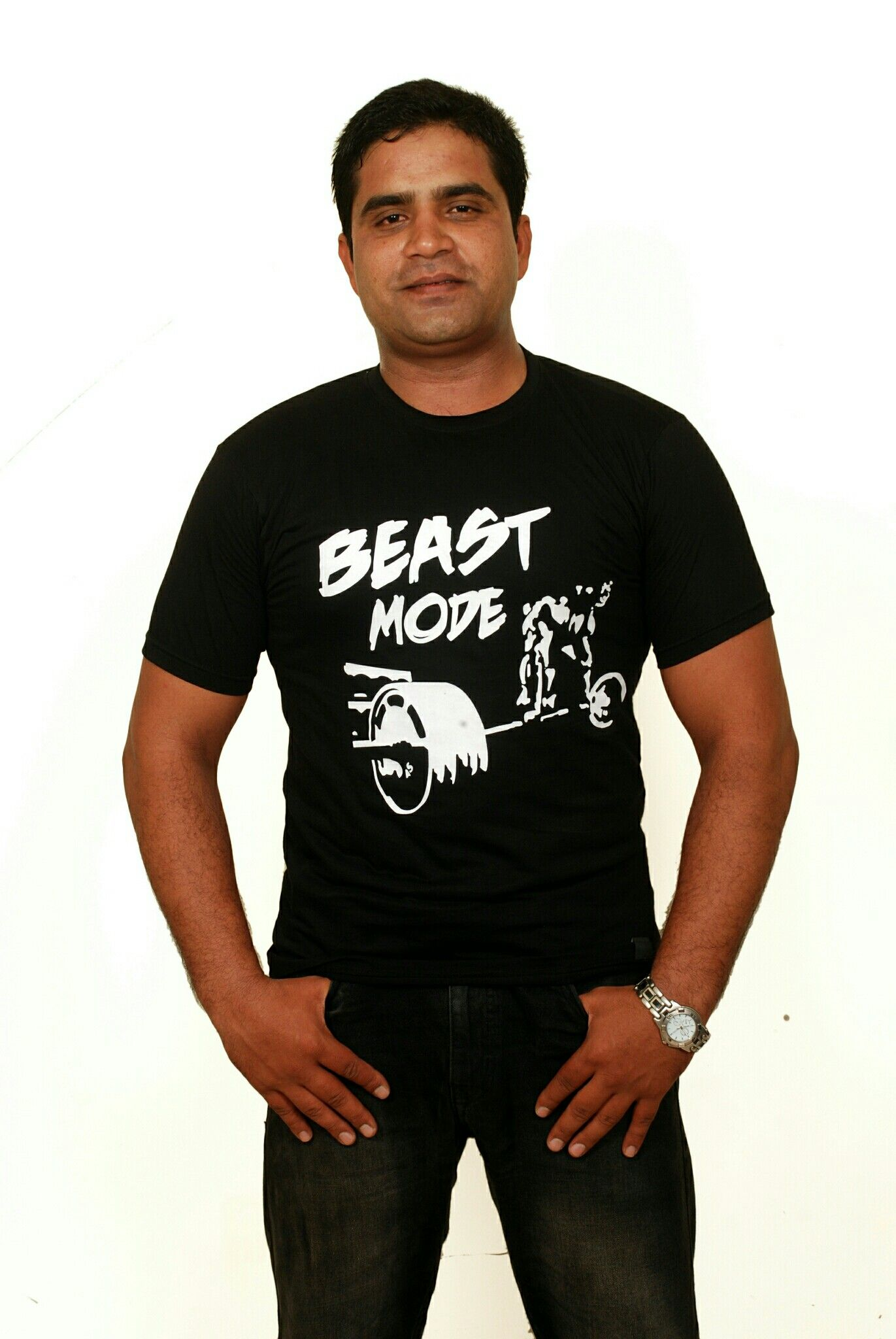 Beast mode gym workout tees launched by club legend